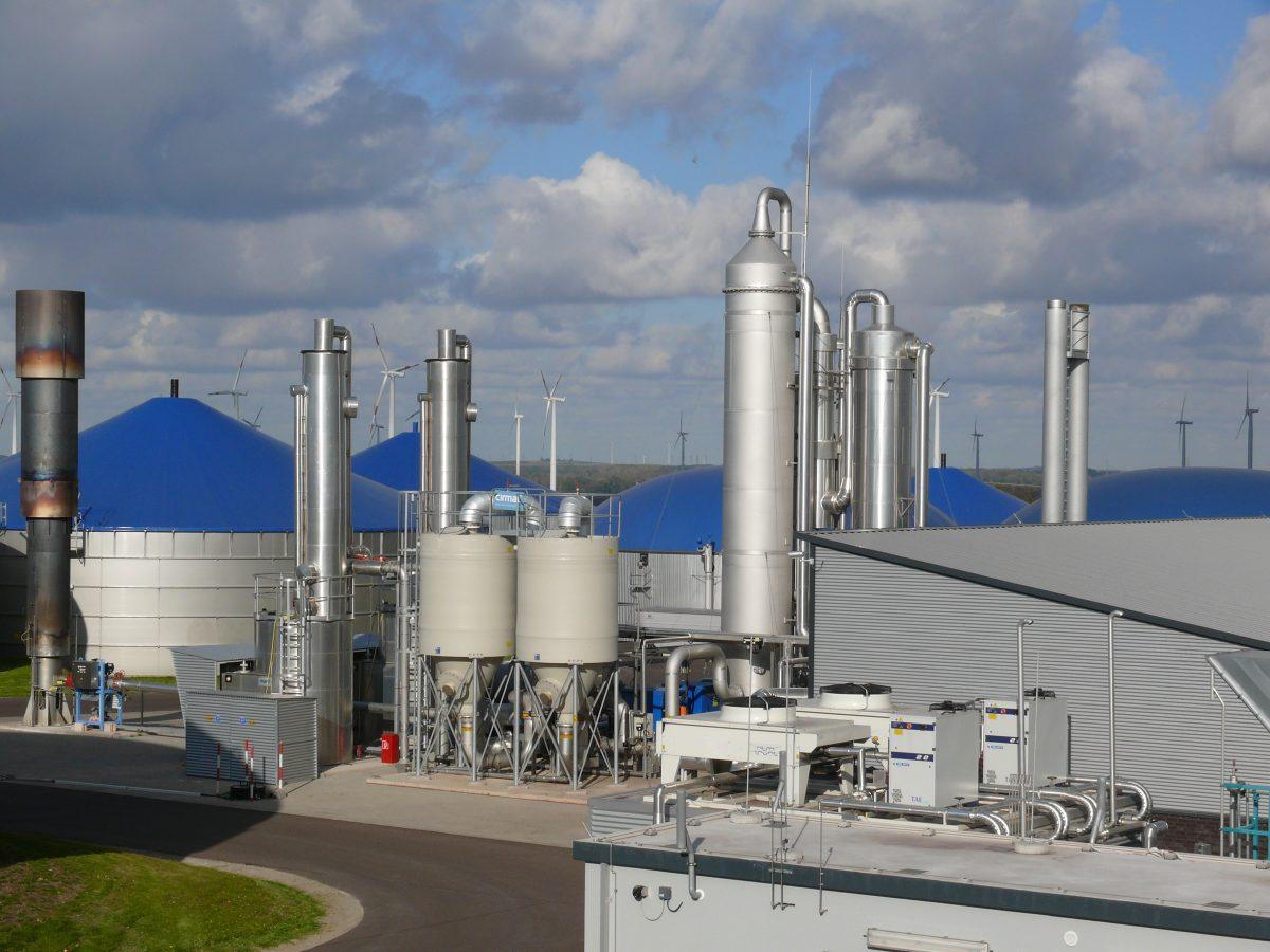 centrale biometano